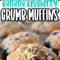 MUFFINS ON A COOLING RACK AND MUFFIN WITH CRUMB TOP