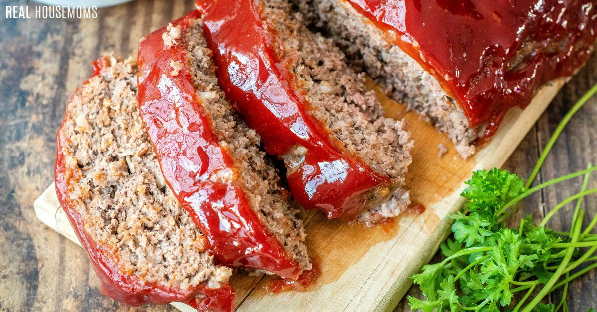 Best Classic Meatloaf Real Housemoms