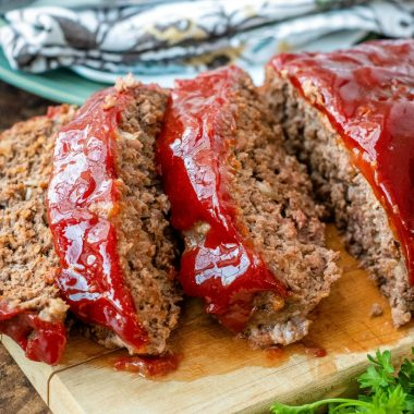 My Classic Meatloaf recipe may have basic ingredients, but it makes the easiest, best, and most delicious comfort meal out there!