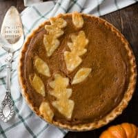 This simple and classic dessert is the Best Pumpkin Pie Recipe and it's perfect for your holiday table. It pumpkin pie is simple, delicious, and beautiful!