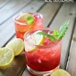 Replace your usual afternoon cocktail with this delicious BLACKBERRY LEMON GIN & TONIC. It's the perfect refreshment on a warm day out on the back porch with friends & family!