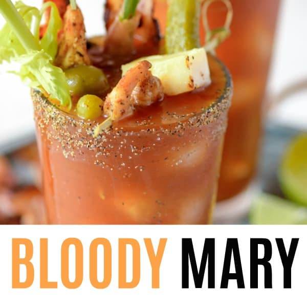 square image of bloody mary with text
