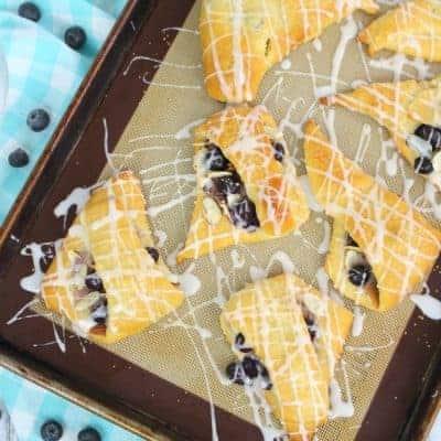 Blueberry Almond Turnovers