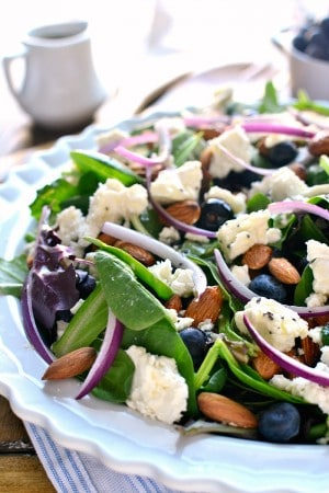 Blueberry Feta Salad 1e