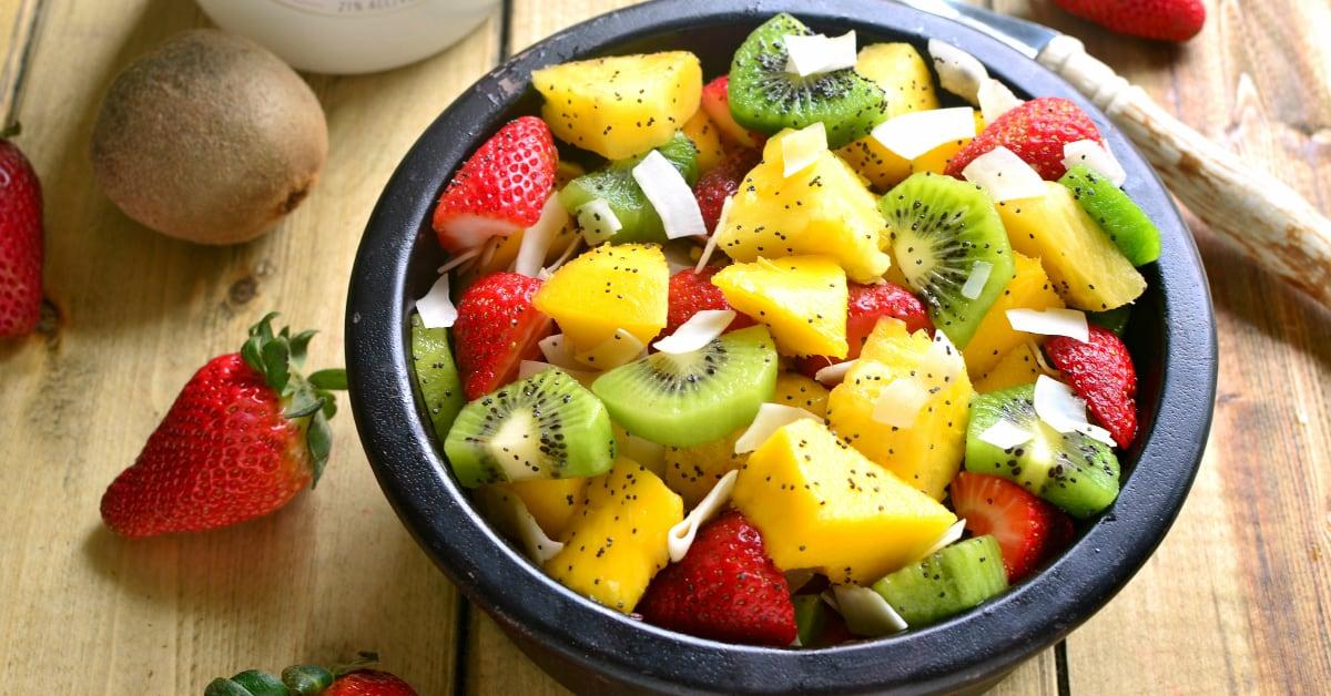 boozy tropical fruit salad real housemoms