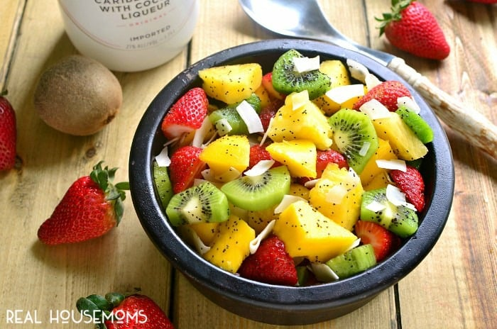 tropical fruit salad fruit ninja 2