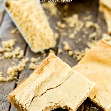 Brown Sugar Cookie Bars