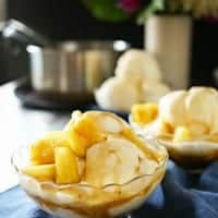Making a delicious dessert for the family doesn't have to be difficult or time-consuming with our BROWN SUGAR PINEAPPLE SUNDAE!