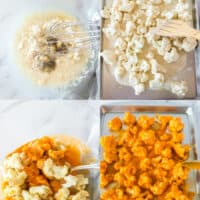 steps to make buffalo cauliflower
