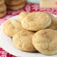 Buttered Rum Snickerdoodles are a classic cookie kicked up a notch with the festive flavor of buttered rum. They're bound to become your new favorite cookie!