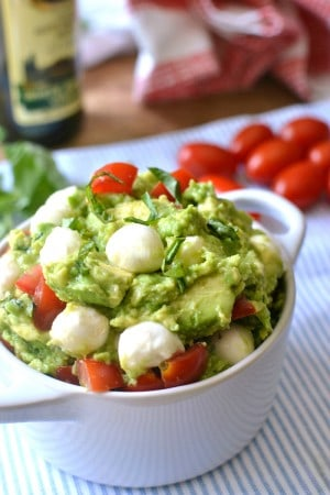 Caprese Guacamole | Lemon Tree Dwelling