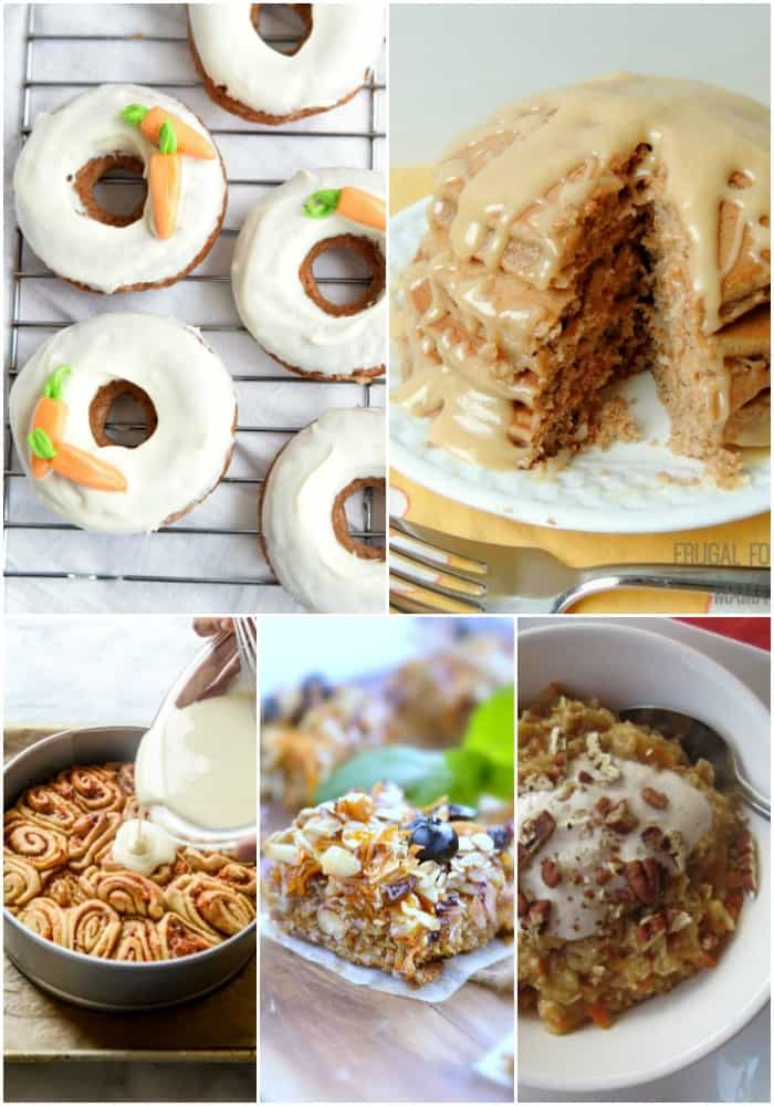 Enjoy your favorite spring flavor any time of day! These 25 Craveable Carrot Cake Recipes are so good even the Easter Bunny can't resist them!