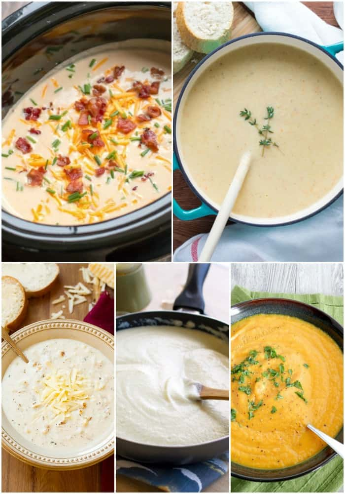 cauliflower soups & sauces
