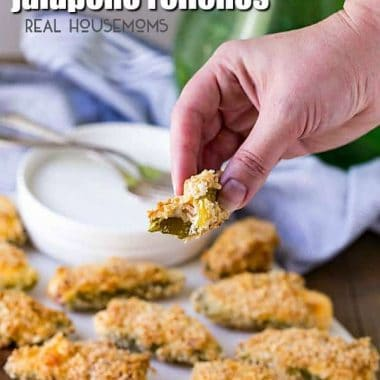 Cheese and Bacon Jalapeno Rellenos are great straight out of the oven. They have all the great flavor of bacon-wrapped jalapeno poppers with a crispy outside baked right in the oven! Jalapeno and bacon were a match made in Heaven!