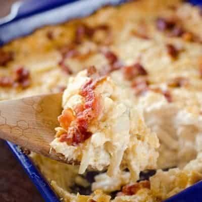 Cheesy Bacon & Jalapeño Hash Browns