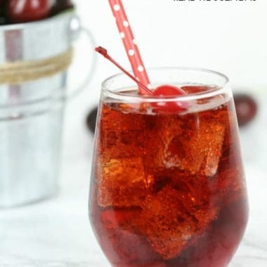 Cherry Spritzer Cocktail