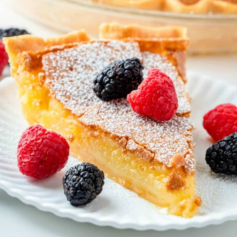 Easy, creamy, flavorful and classic, this Chess Pie recipe is an old-fashioned favorite dessert that is perfect for any occasion!