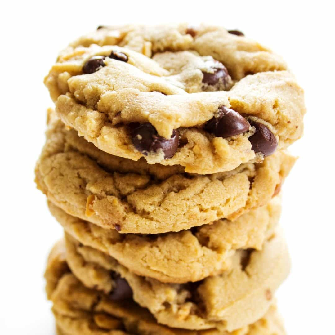 Chewy Chocolate Chip Peanut Butter Cookies Real Housemoms