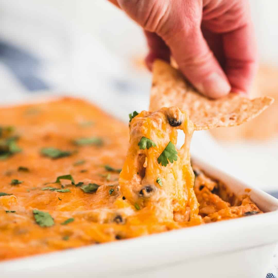 Chicken Enchilada Dip ⋆ Real Housemoms