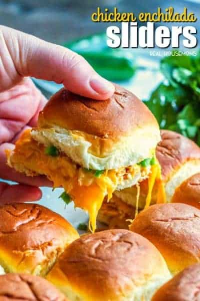 Chicken Enchilada Sliders