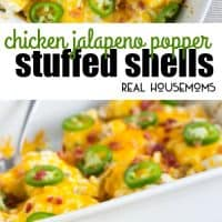 These Chicken Jalapeno Popper Stuffed Shells are a crave-able dinner perfect for busy weeknights!