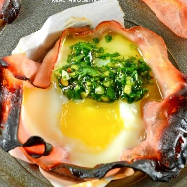 Chimichurri Egg Cups