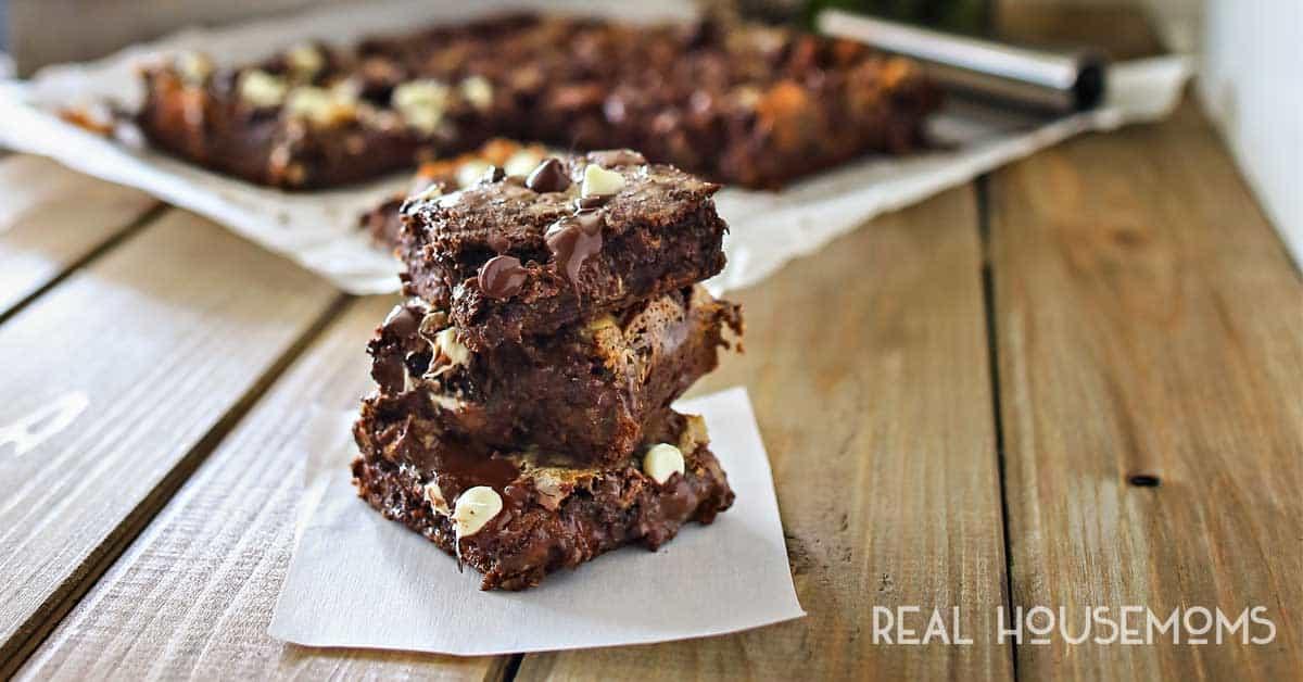 Chocolate Cake Mix Bars Real Housemoms