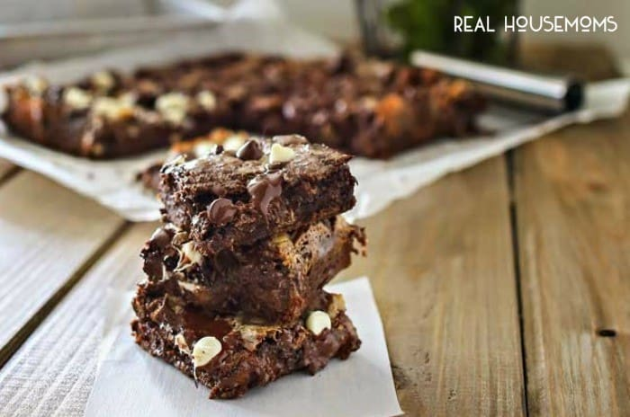 CHOCOLATE CAKE MIX BARS are a chocolate lovers dream! The cake mix makes these bars easy to whip up and they are over the top delicious!