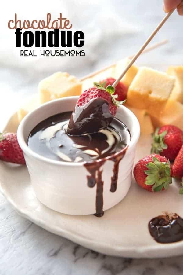 chocolate fondue real housemoms. Black Bedroom Furniture Sets. Home Design Ideas