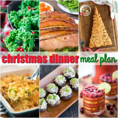 Bring your family & friends around the dinner table with our Christmas Dinner Meal Plan! Each recipe is a family favorite from our house to yours to celebrate the season!