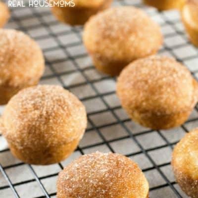 Churro Muffins