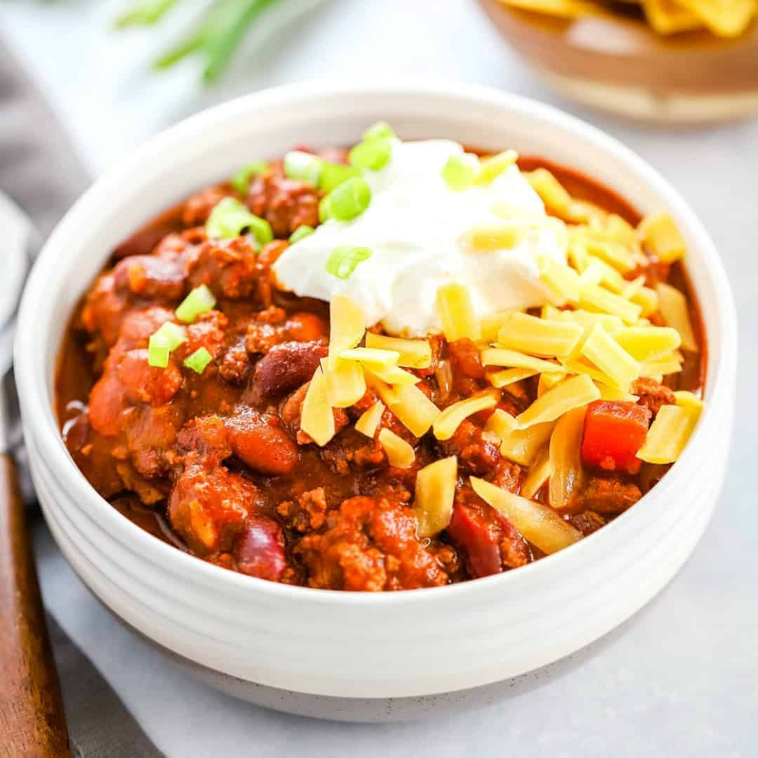 Classic 30 Minute Chili Recipe Real Housemoms