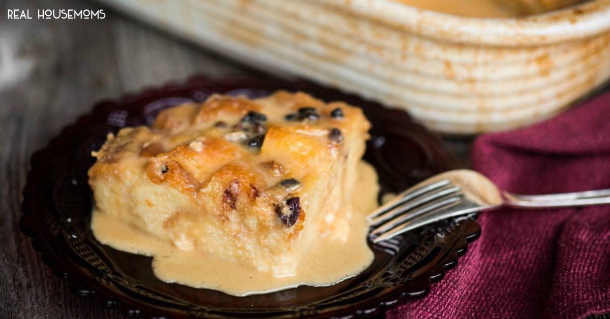 Classic Bread Pudding with Vanilla Caramel Sauce ⋆ Real ...