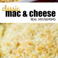 This comforting Classic Macaroni and Cheese is a family favorite you'll want to make again and again!