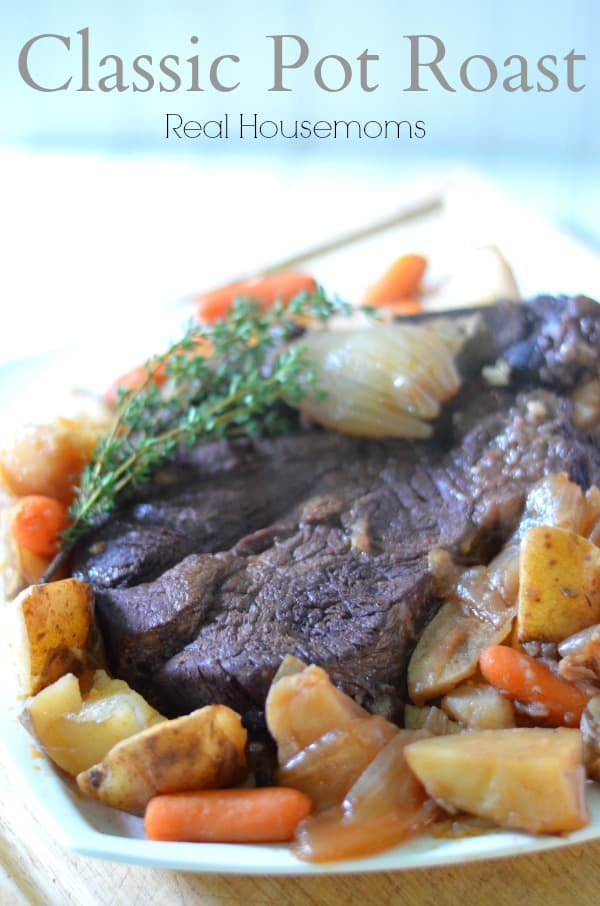 Classic Pot Roast - Real Housemoms