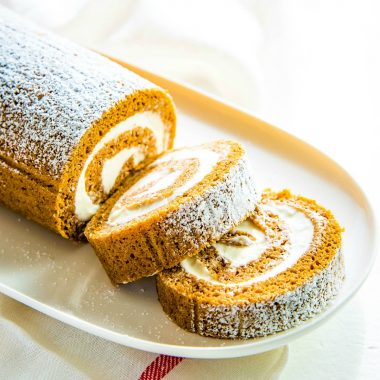 This Classic Pumpkin Roll is delicious, impressive, easy and certainly a must for the holidays but perfect for all year around!