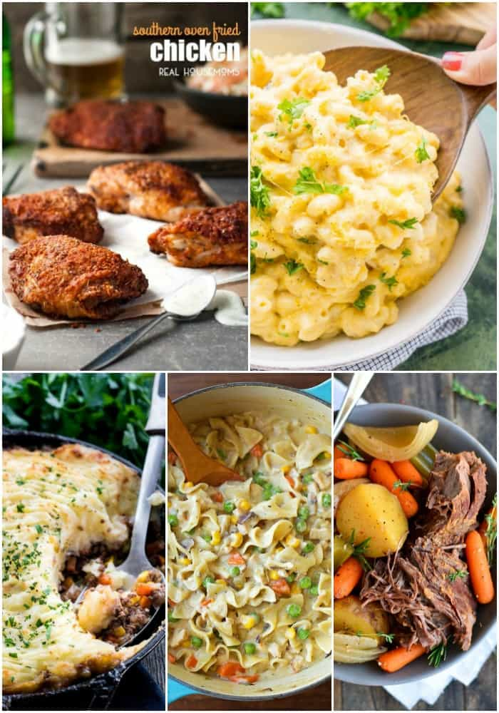 25 comforting dinner recipes the whole family loves real for Best dinner ideas ever