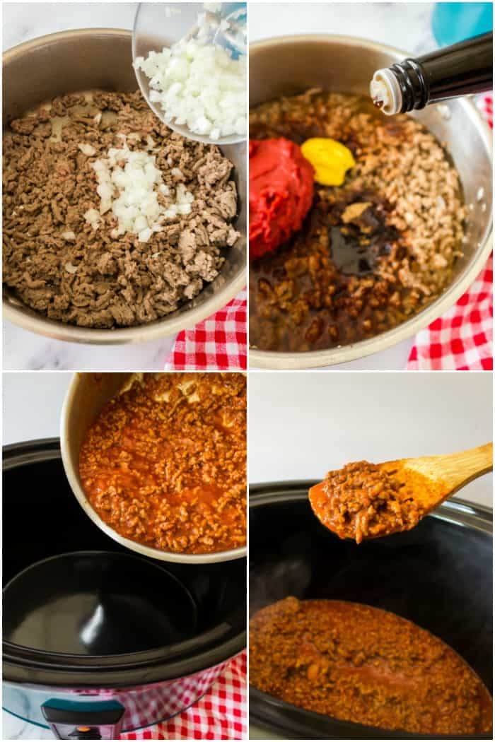 steps to make hot dog chili