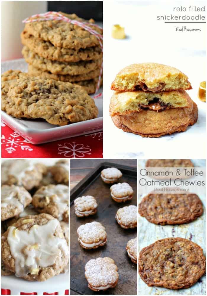 stuffed and studded christmas cookies