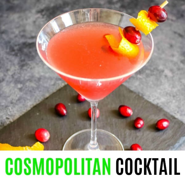 Cosmopolitan Cocktail ⋆ Real Housemoms