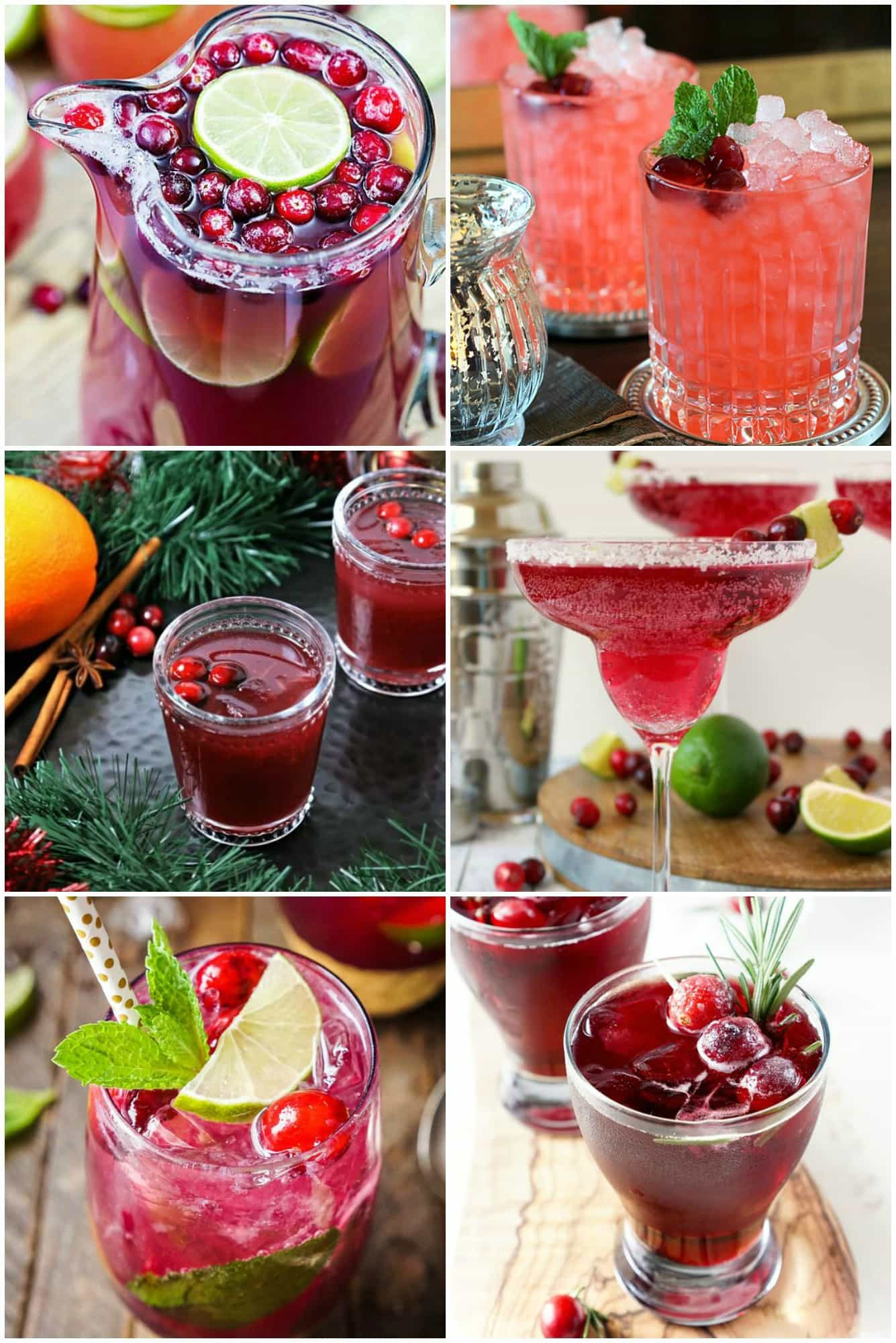 25 Cranberry Cocktails for Your Holiday Party ⋆ Real Housemoms