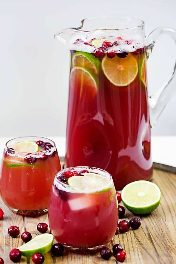 Cranberry pineapple punch easy cocktail real housemoms for Drink recipes without alcohol