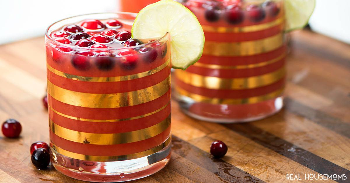 recipe: cranberry orange vodka punch [29]