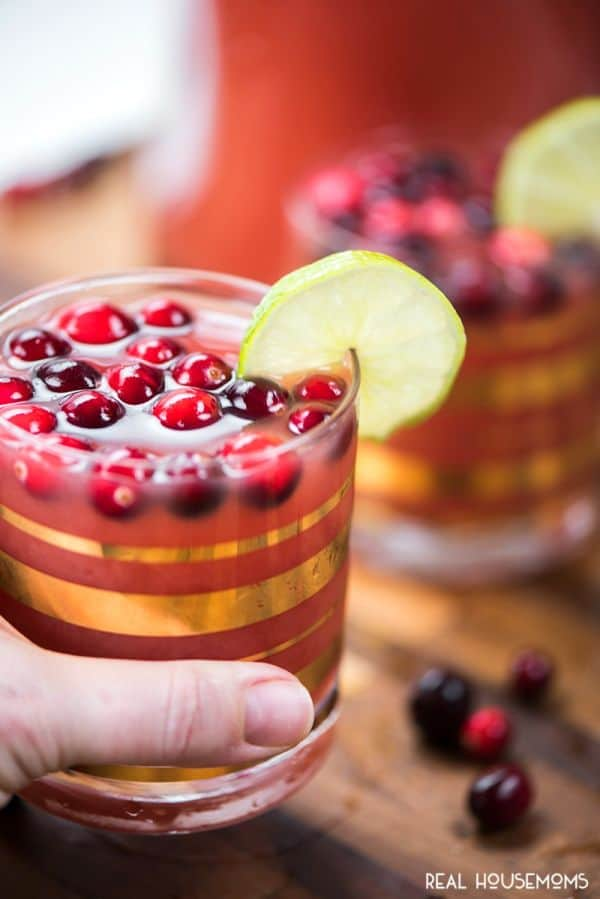 This Cranberry Vodka Punch is perfect for your holiday parties this year and has a bright flavor that will make your guest happy!