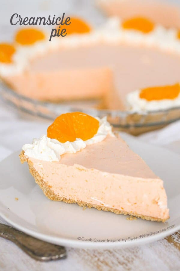 Creamsicle Pie - Spend with Pennies