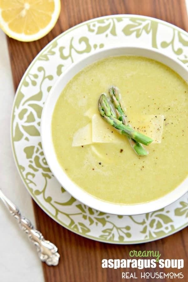 This Creamy Asparagus Soup Recipe Is A Great Spring For Easter Dinner