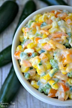 Creamy Jalapeno Corn Dip 4