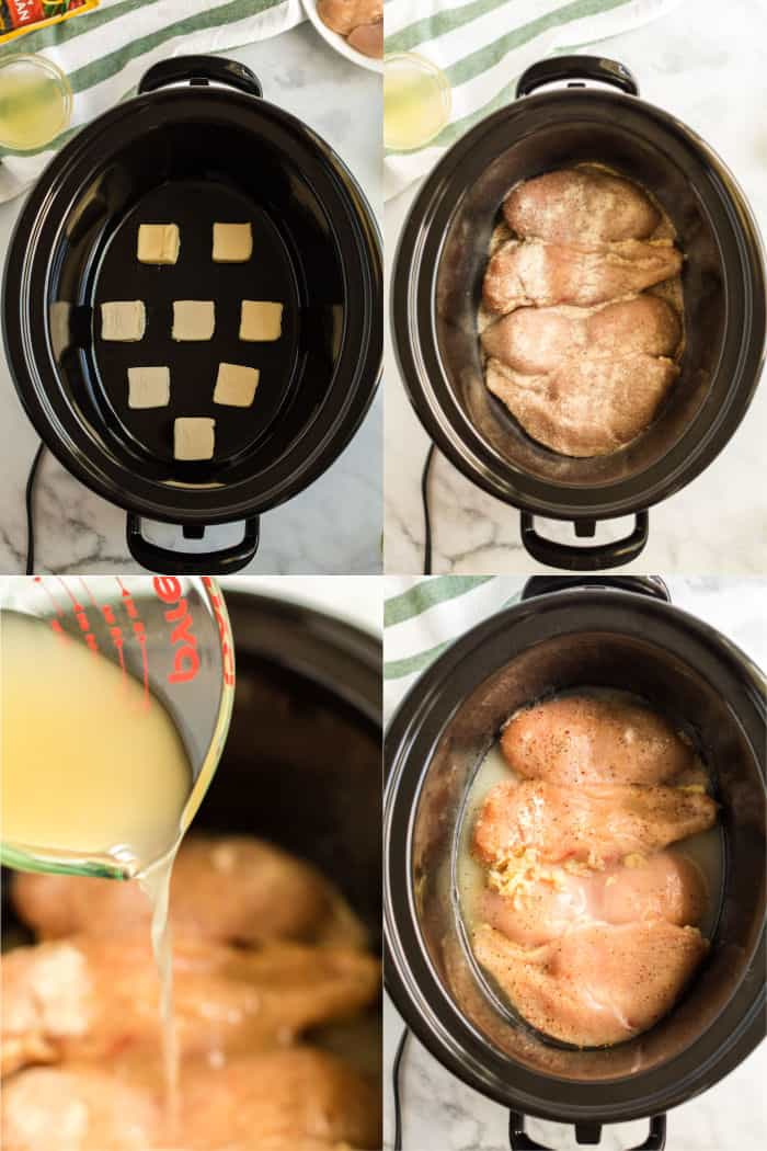 slow cooker chicken piccata