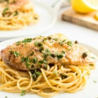 Crock Pot Lemon Italian Chicken is a delicious slow cooker recipe! Let your crock pot do the work for an easy weeknight meal that your family will love!