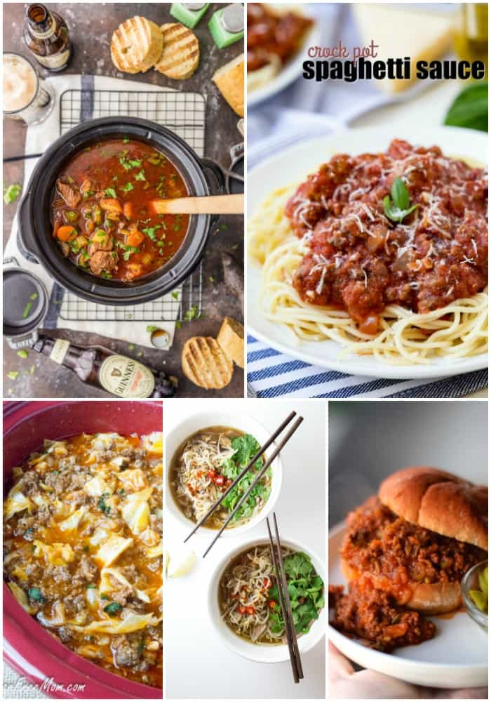 Getting dinner on the table doesn't have to be a hassle! These 25 Crock Pot Low Fat Recipes let your slow cooker do the work while helping your family eat better!